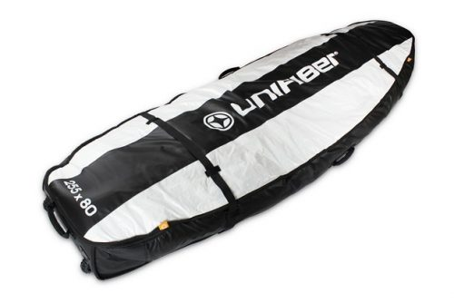 Double Pro Boardbag 255 x 80 with XL Wheels